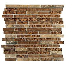 Casa Antica Tile Marble by Glass Mosaic Tile Tile The Home Depot