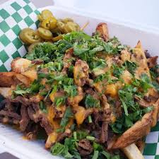 100 San Antonio Food Truck ASADA FRIES We Asked For Cilantro And Jalapenos On Top And It Was