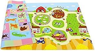 Amazon Baby Care Play Mat Medium Busy Farm Baby