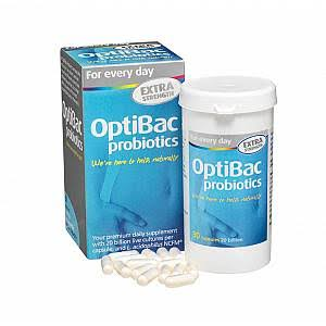 OptiBac Extra Strength Probiotics - 90 Capsules