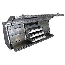 ALUMINIUM HIGH SIDE HD TRUCK BOX 5-DRAWER | Buy Tools Online
