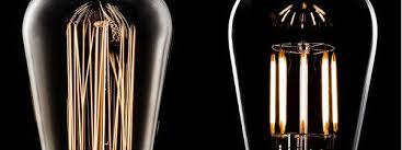 led filament bulbs vs edison vintage bulbs nostalgicbulbs