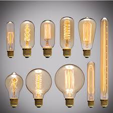 incandescent bulbs e27 e26 antique retro vintage dimmable edison