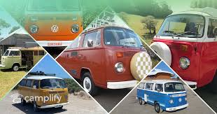 6 Amazing VW Kombi Campervan Conversions that you can hire