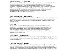 Bunch Ideas Of Machinist Resume Objective Examples Lovely Bold Design Cnc