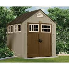 Rubbermaid Vertical Storage Shed Home Depot by Ideas U0026 Tips Appealing Suncast Storage Shed For Home Outdoor