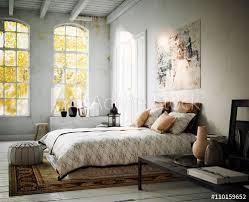 vintage style bedroom loft apartment altes retro