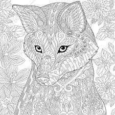 Full Image For Animal Coloring Pages Free Printable Adults Pdf Colouring