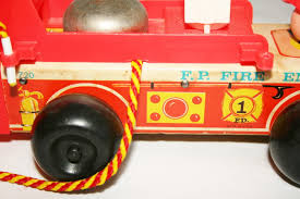 Vintage Fisher Price Little People Fire Truck Engine 720 Wooden ... Fisher Price Little People Fire Truck Rescue Red And White Ladder Fisherprice Build N Drive Toys Games Blocks Worlds Smallest Fisher Knick Knack Mattel Fisherprice 2007 Little People American Fire Truck Toy With Toysrus Educational Toy Review Demstartion Of Lift Lower Best Price Only 999 Dalmatian Dog Lights Dfn85 You Are Amazoncom Ride On Helping Others Walmartcom Sit With Me School Bus
