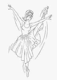 Barbie Ballet Coloring Pages