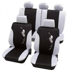 housse de siege auto volvo v40 housse siège auto kit complet noir blanc