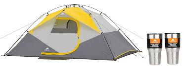 Ozark Trail 9′ X 7′ X 48″ Instant Dome Tent With 2 30oz Tumblers ... Tents 179010 Ozark Trail 10person Family Cabin Tent With Screen Weathbuster 9person Dome Walmartcom Instant 10 X 9 Camping Sleeps 6 4 Person Walmart Canada Climbing Adventure 1 Truck Tent Truck Bed Accsories Best Amazoncom Tahoe Gear 16person 3season Orange 4person Vestibule And Full Coverage Fly Ridgeway By Kelty Skyliner 14person Bring The Whole Clan Tents With Screen Room Napier Sportz Suv Room Connectent For Canopy Northwest Territory Kmt141008 Quick C Rio Grande 8 Quick