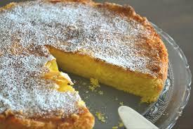 sommer sonne zitronenkuchen mit mandeln