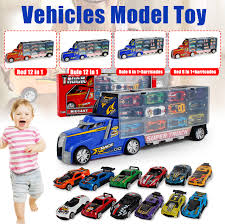 100 Big Truck Toys Details About Carrier Container Lorry Mini Racing Car Vehicle Kid Model Toy Set Gift