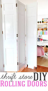 Home Improvement DIY project How to make DIY rolling doors with