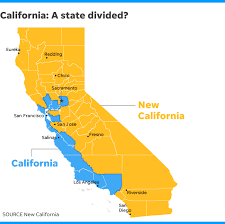 Map Of New California