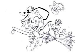 Sonic Amy Rose Coloring Pages