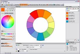 Tags Color Blindness Simulation Picker Scheme Schemes Selection Theory Wheel Wheels Graphics HTML Tools Web