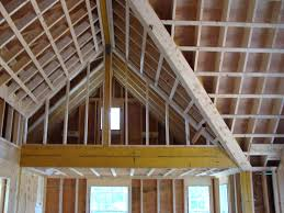 Insulating A Vaulted Ceiling Uk by How To Cathedral Ceiling Construction Google Search Cathedral