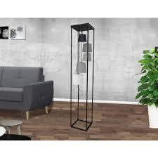 design stehle wohnzimmer schwarz grau 180cm levels