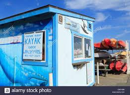 100 Truck Rental Santa Cruz Kayak Rental On The Municipal Wharf CaliforniaUSA Stock
