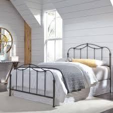Rc Willey Bunk Beds by Nickel Classic Contemporary Queen Metal Bed Braylen Rc Willey