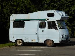 Saw This Old Motorhome At Aubigny Sur Nere France The Aire