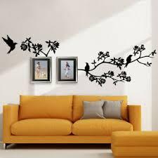 wandtattoo wandsticker wandaufkleber wohnzimmer ast floral
