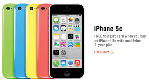 Some U S retailers put iPhone 5c on fire sale