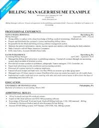 Medical Billing Resume Objective Examples Sample And Coding Coordinator