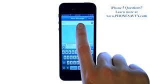 Apple iPhone 5 iOS 6 How do I Send a Text Message