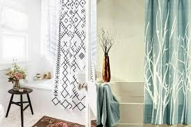 Shower Curtain Ideas For Small Bathrooms Tips Choose The Right Shower Curtain For Your Small Bathroom
