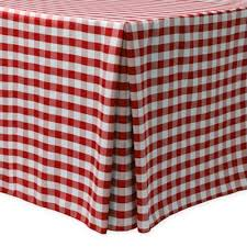 Buy Red Gingham Tablecloth from Bed Bath & Beyond