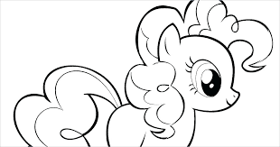 My Little Pony Coloring Pages Pinkie Pie Page