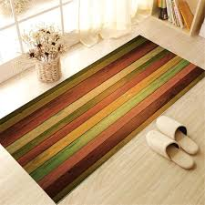 Self Adhesive Tile Floor Wall Sticker 3D Colorful Decal DIY PVC Mat Pad Wallpaper Home Room Kitchen Mural Decoration In Stickers From