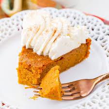 Crustless Pumpkin Pie by Low Carb Pumpkin Pie Recipes Sparkrecipes