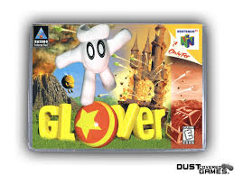 Glover N64 Nintendo 64 Game Case Box Cover Brand New Professional ...