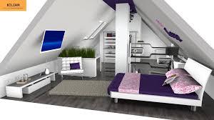 jugendzimmer dachgeschoss planung zimmer einrichten