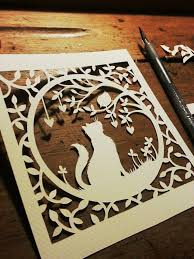 Cat Paper Cutting Designs Templates