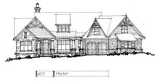 Check Out The Front Elevation Of Home Plan 1427 Oliver