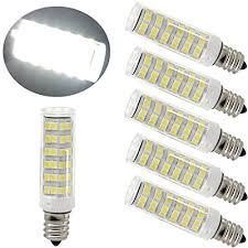 ulight led e12 led light bulb 120v 6000k daylight white 6w led