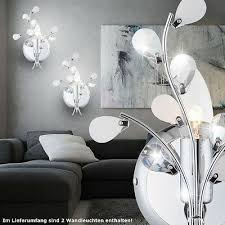 büromöbel 2er set design led wandle leuchte beleuchtung