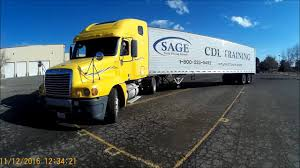 100 Cdl Test Truck Class A CDL Skills 90 Degree Alley Dock Video 12 YouTube
