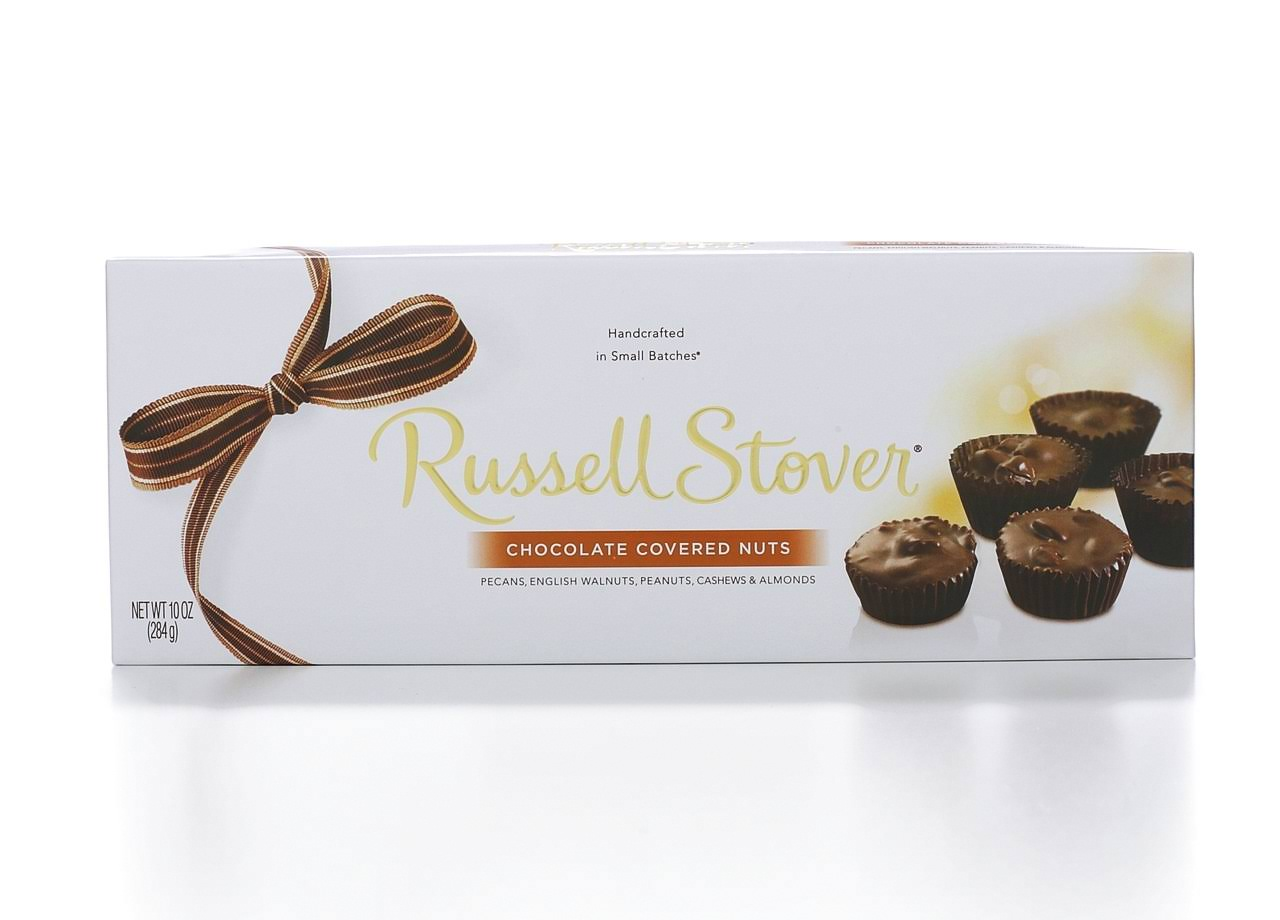 Russell Stover Chocolate Covered Nuts - 10oz