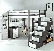 lit avec bureau int r lit mezzanine 2places lit mezzanine 2 places et lits superposacs 23