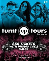 50% Off Turnt Up Tours Club Crawl | Vegas4Locals.com
