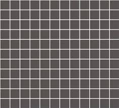 lyric unglazed porcelain rectified edge mosaic tile in charcoal gray