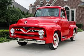 100 F100 Ford Truck 1955 Classic Cars For Sale Michigan Muscle