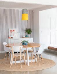 Enchanting Round Rug Dining Room Contemporary Best Inspiration What Size Under Table Designs Bedroom Licious Rugs Lounge Tape Carpet For Target Pier One
