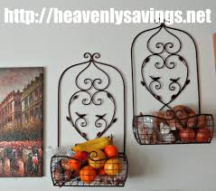 Add More Space And Organization To Your Kitchen With Decorative Wall Baskets